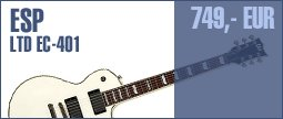 ESP LTD EC-401 Olympic White