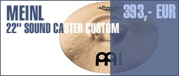 "Meinl 22"" Sound Caster Custom Ride"