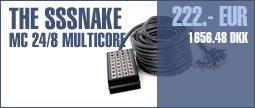 the sssnake MC 24/8 Multicore