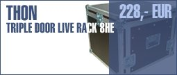 Thon Triple Door Live Rack 8U 45