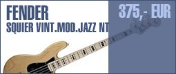 Fender SQ VM Modified Jazz ´70 NT