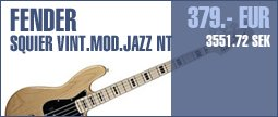 Fender Squier Vint. MOD. Jazz NT