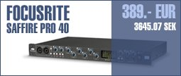 Focusrite Saffire Pro 40