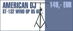 American DJ ST-132 Wind Up 85 kg