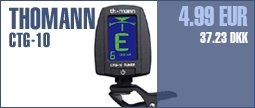 Thomann CTG-10 Clip Tuner