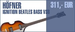 H�fner Ignition Beatles Bass VSB