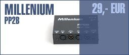 Millenium PP2B Phantom Power Supply
