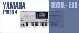 Yamaha Tyros 4 + Expansion Pack