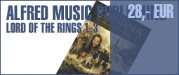 Alfred Music Publishing Lord of The Rings 1-3