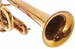 Trumpet sound without mute