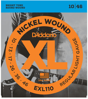 D&#39;Addario EXL110 E-Gitarre Saiten