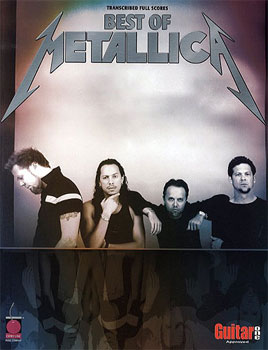 Hal Leonard The Best Of Metallica (Transcr