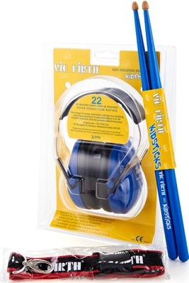 Vic Firth Kidphones Isolation Headphones