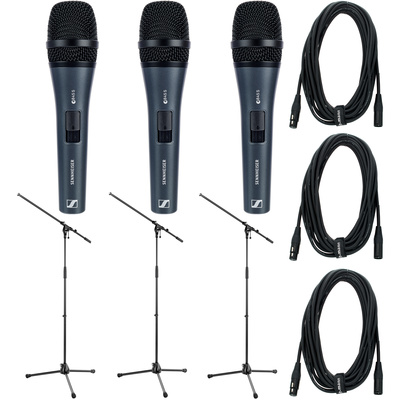 Sennheiser E 845 S Triple Bundle