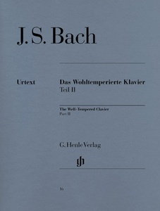 Henle Verlag Bach Wohltemperiert Klavier II
