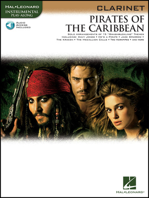 Hal Leonard Pirates Of The Caribbean (Cl)