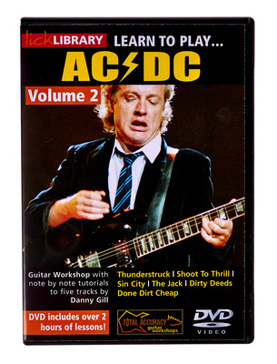 Music Sales Learn to Play AC/DC Vol.2 DVD