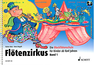 Schott Fltenzirkus Vol.1 +CD
