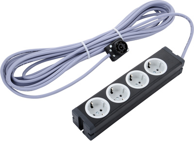 Stairville Multicable 10m 8pinB-4 Sockets