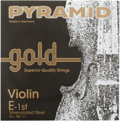 Pyramid Gold Violin Strings 4/4