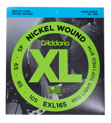 Daddario EXL-165