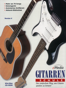 EMedia Music Corp. Gitarrenschule 1 (CD-Rom)
