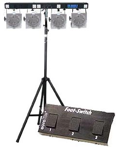 Stairville Lighting Set Runlight Alu