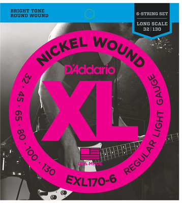 Daddario EXL170-6 Regular Light