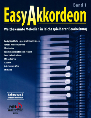 Edition Walter Wild Easy Accordion 1