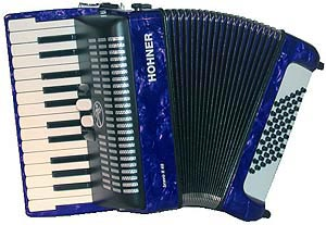 Hohner Bravo II 48 Blue