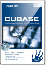 DVD Lernkurs Tutorial Hands On Cubase Vol 3
