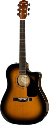 Fender CD-60 CE Westerngitarre SB