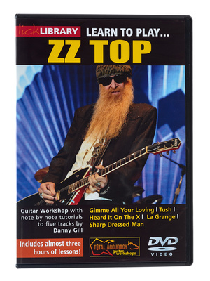 Music Sales Learn to Play ZZ Top (DVD)
