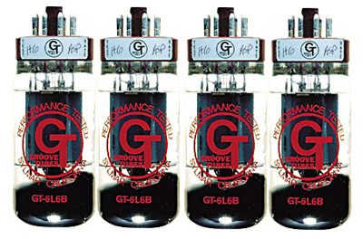 Groove Tubes 6L6R Quartet
