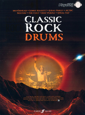 Alfred Music Publishing Classic Rock Drums