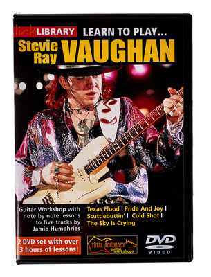 Music Sales Learn to Play Stevie Ray (DVD)