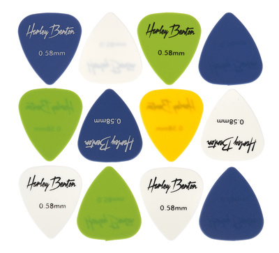 Harley Benton Nylon Player Pick Set 0,46mm