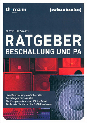Wizoo Publishing Ratgeber Beschallung und PA