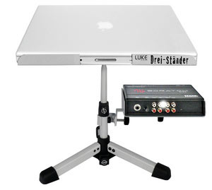 Luke Laptop Stand White