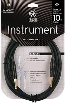 Planet Waves PW-CPG-10 Custom Pro Cable