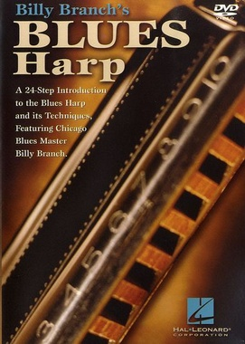 Hal Leonard Billy Branch Blues Harp DVD