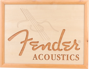 Fender Wood Sign 