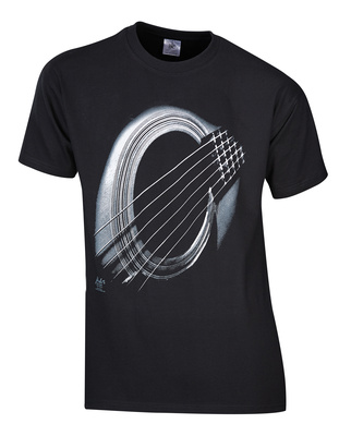 Rock You T-Shirt Black Hole Sun S