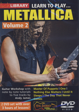 Music Sales Learn To Play Metallica 2