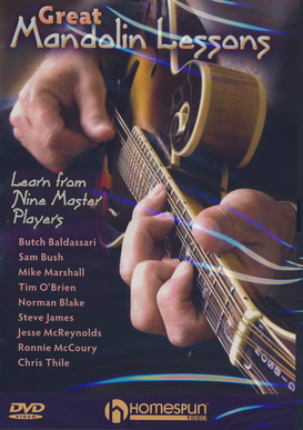 Homespun Great Mandolin Lessons DVD