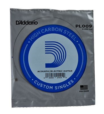 Daddario PL009 Single String