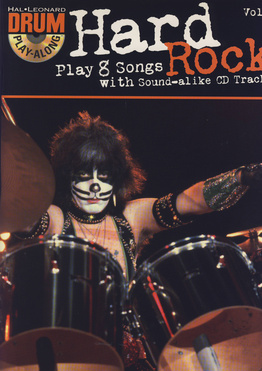 Hal Leonard Hard Rock Drum Playalong