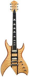 BC RICH BICH EXOTIC QUILT MAPLE