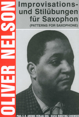 Paul C. R. Arends Verlag Improvisations-Stilbungen Sax