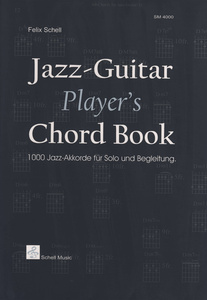 Schell Music Jazz Guitar Players Chord Book